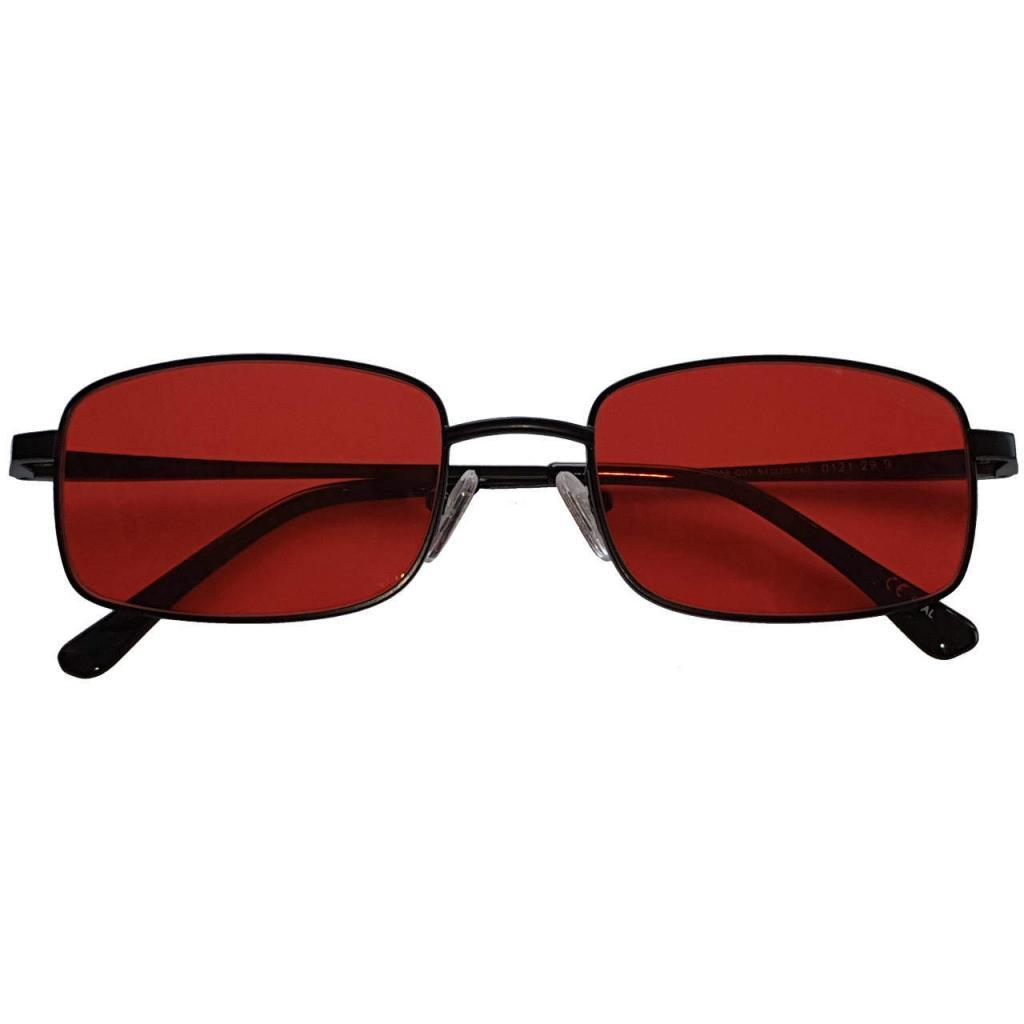 Liberty Blue Blocker EyeGlasses lenti Rosse