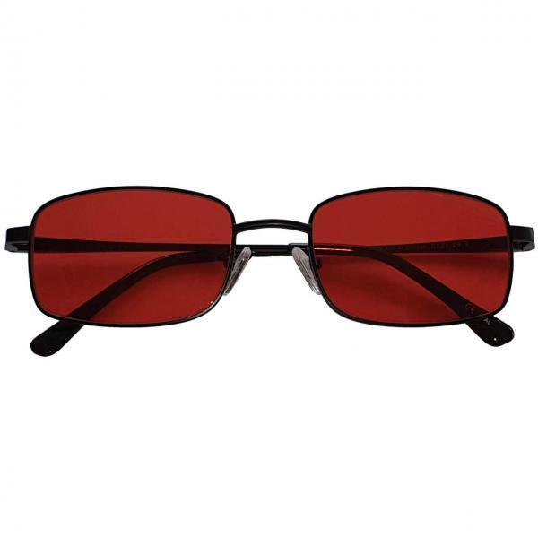 Liberty Blue Blocker EyeGlasses lenti Rosse