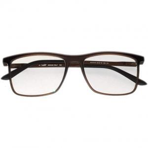 Square Brown PC Glasses Blue Filtering