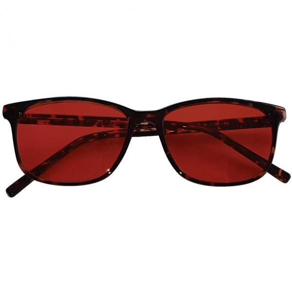 Rockefeller Blue Blocking EyeGlasses lenti Rosse