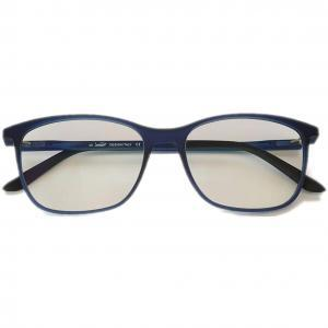 Square Blue PC Glasses Blue Filtering