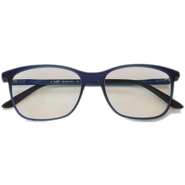 Square Blue PC Glasses Blue Filtering