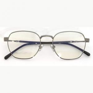 Brooklyn Silver Blue Blocking EyeGlasses - Occihali Blue Block