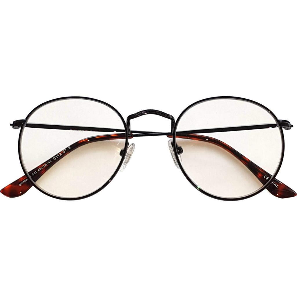 Chrysler Blue Blocking EyeGlasses con lenti Trasparenti