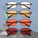 Liberty Blue Blocker EyeGlasses lenti Trasparenti, Gialle, Arancioni e Rosse