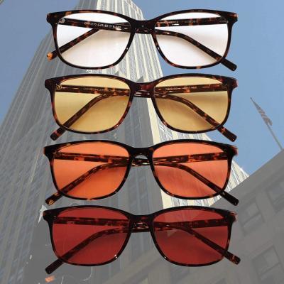 Rockefeller Blue Blocking EyeGlasses lenti Trasparenti, Gialle, Arancioni e Rosse