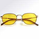 Brooklin Gold Blue Blocking EyeGlasses – Occihali Blue Block lenti Gialle
