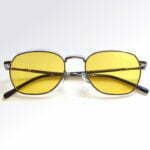 Brooklin Silver Blue Blocking EyeGlasses – Occihali Blue Block Lenti Gialle